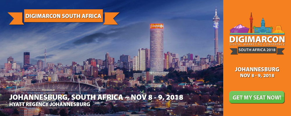 DigiMarCon South Africa 2018