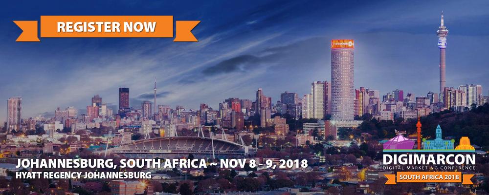 DigiMarCon South Africa 2018 Register