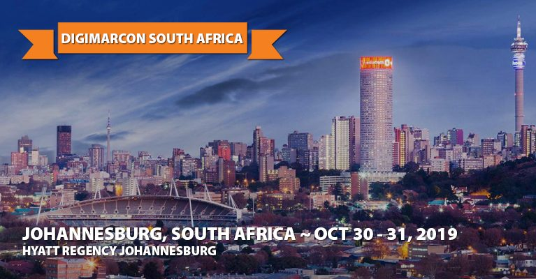 About: DigiMarCon South Africa 2019 · Hyatt Regency Johannesburg