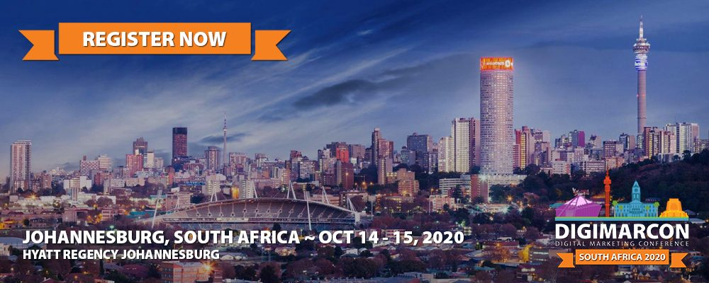 DigiMarCon South Africa 2020 Register